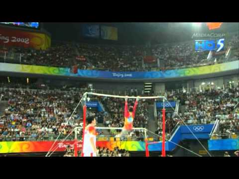 He Kexin - Uneven Bars - 2008 Olympics Team Final