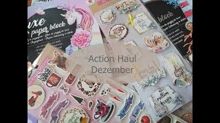 Action Haul Dezember 2018 Basteln,Sticker,Haushalt