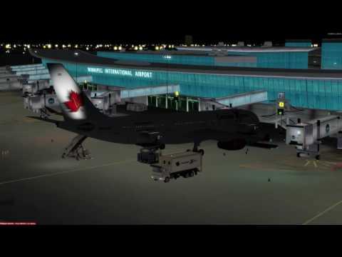 Airbus A330-200 Winnipeg (CYWG) to Boston (KBOS) P3D v3.4