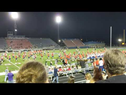 West Monroe High School's 1st Halftime Band Performance