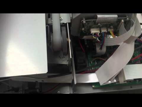 Roland versacamm vs-540 carriage motor noise