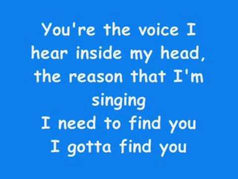 Gotta find you-Joe Jonas-Lyrics