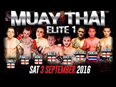 David O'Neill Vs Keiran Manwaring Muay Thai Elite 1