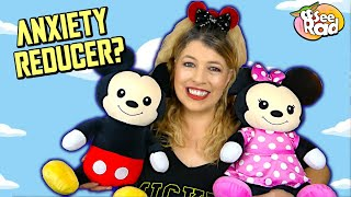 Great Anxiety Reducer?  MICKEY & MINNIE COMFORT WEIGHTED PLUSH Review