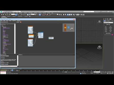 3ds Max - MCG - An introduction to Max Creation Graph