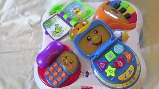 Toy Review: Fisher-price Laugh & Learn Fun With Friends Musical Table