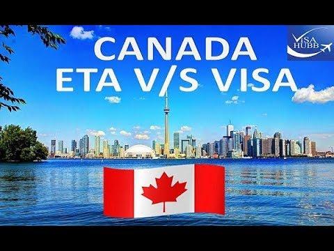 CANADA ETA V/s VISA