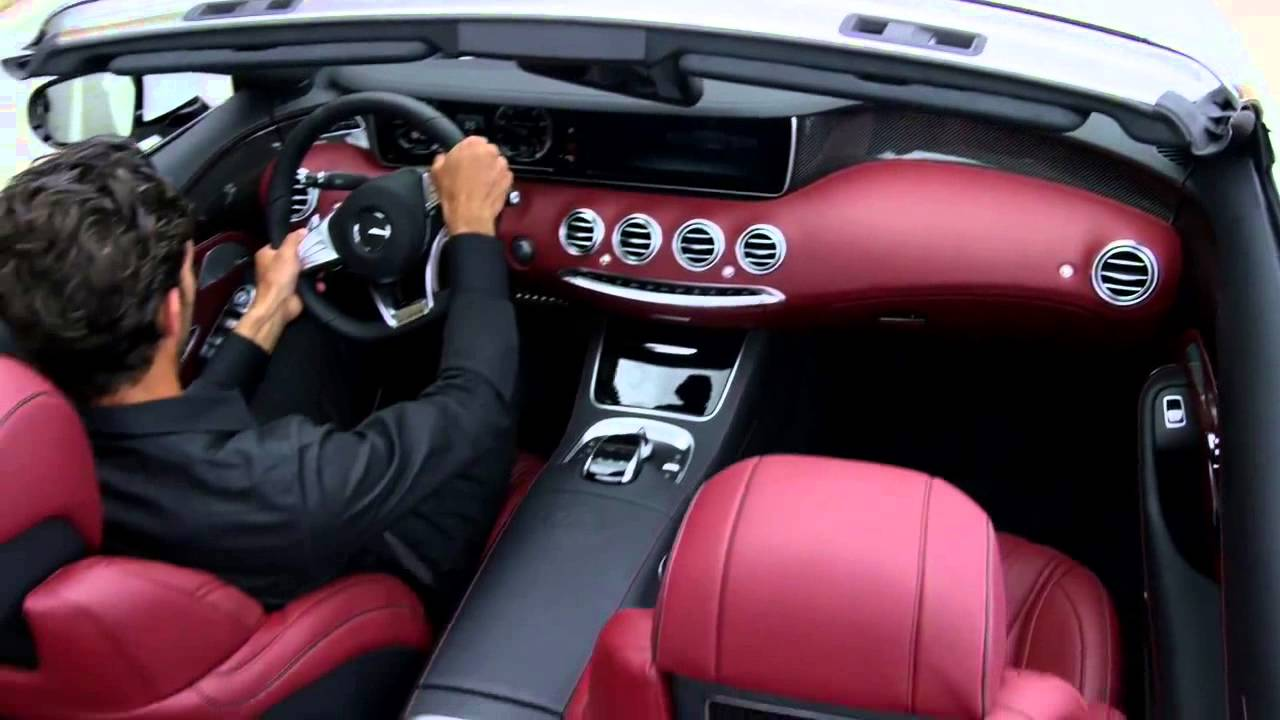 2017 mercedes benz s550 cabriolet interior 02 - 2017 Mercedes Amg S 63 4matic Cabriolet And S 500 Cabriolet Trailer Youtube