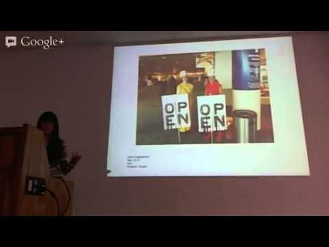 Jen Delos Reyes on Social Practice - Artist Talk (March 21, 2013)