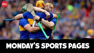 Tipp on top | Red card apologists | Sanchez to Inter? | Monday's Papers