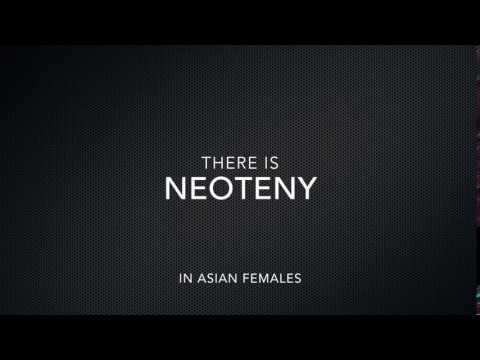 there is neoteny in asian females