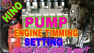 Leyland Hino Engine Timing