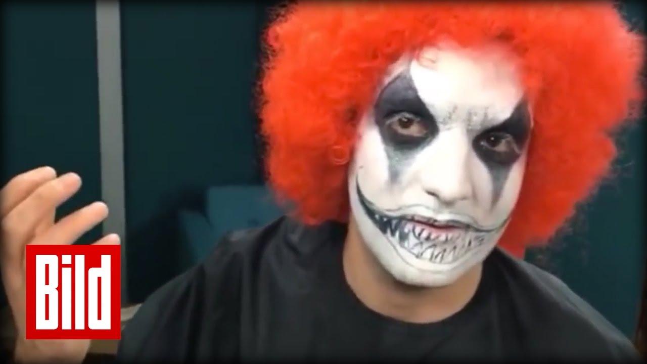 Horror Clown Oder Lieber Clown Schmink Tipps Vom Profi Zu Halloween