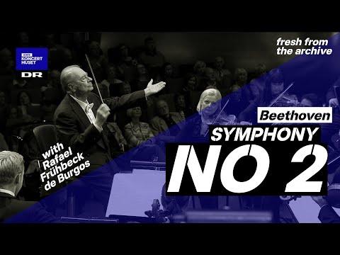 Symphony No. 2 - Beethoven  // Danish National Symphony Orchestra & Rafael Frühbeck de Burgos (Live)