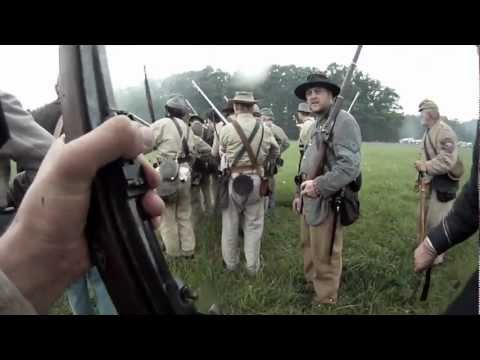 The Battle at Lain's Mill - A Soldiers Perspective of the American Civil War