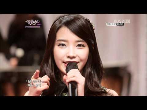 120120 MusicBank You & I - IU