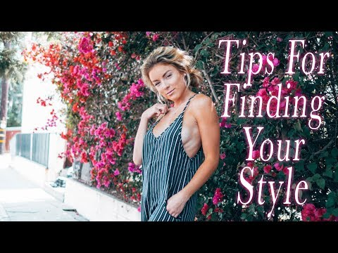 Tips For Finding Your Style!