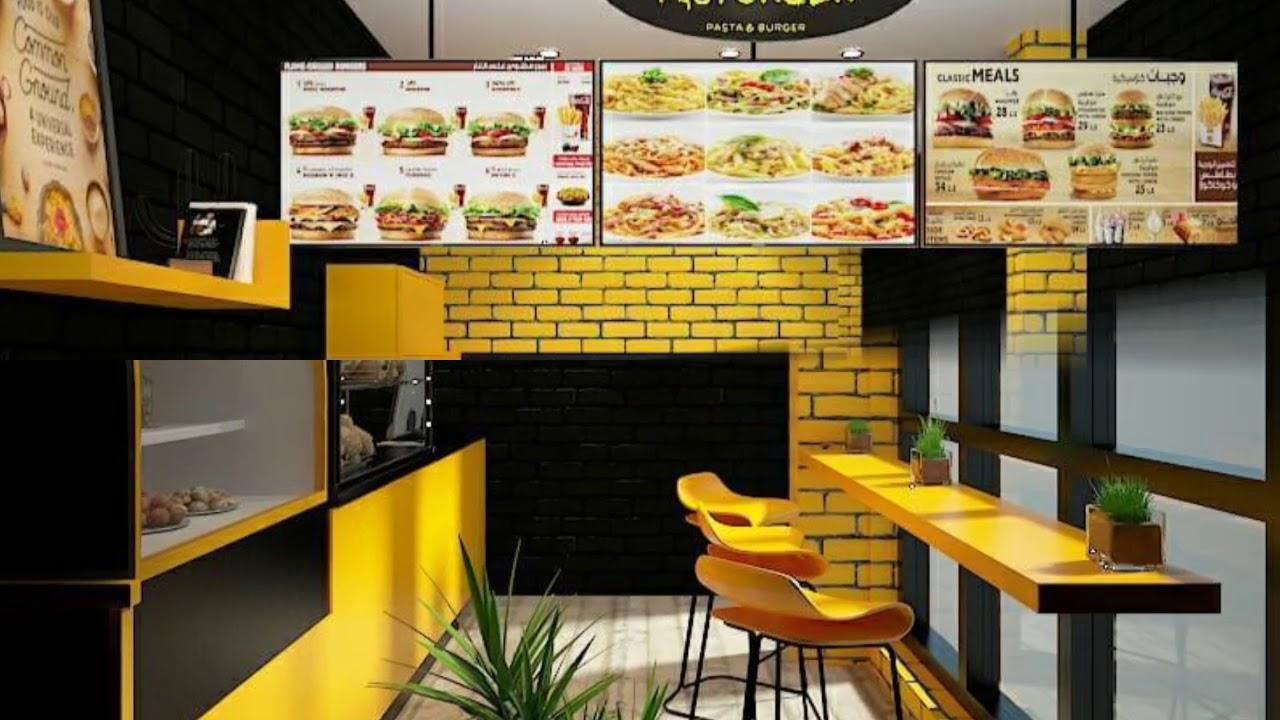 Burger Shop Design Youtube
