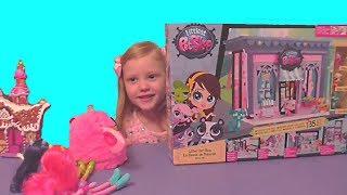 Литл Пет Шоп Littlest Pet Shop детский игровой набор Пет Шоп PET SHOP стильный маленький зоомагазин