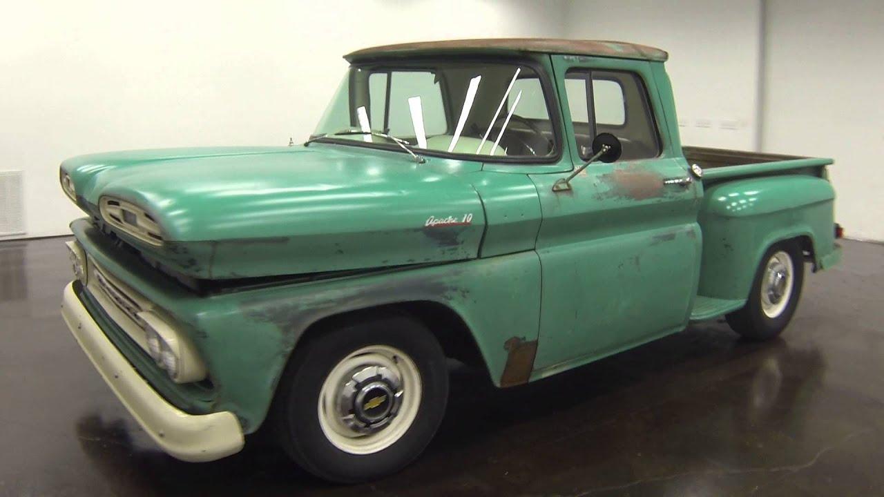 1961 Chevrolet Pickup Youtube Chevy Apache Truck