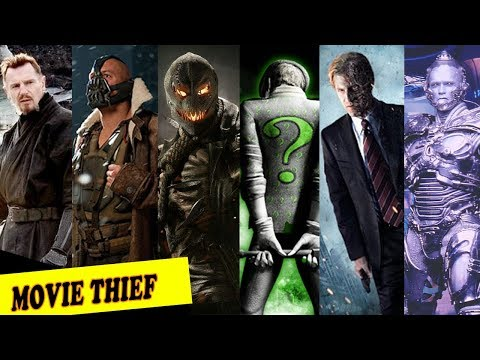 [TỔNG HỢP] 10 Ác Nhân Kẻ Thù Mạnh Nhất Của NGƯỜI DƠI_BATMAN| Top 10 Best Super Villain.