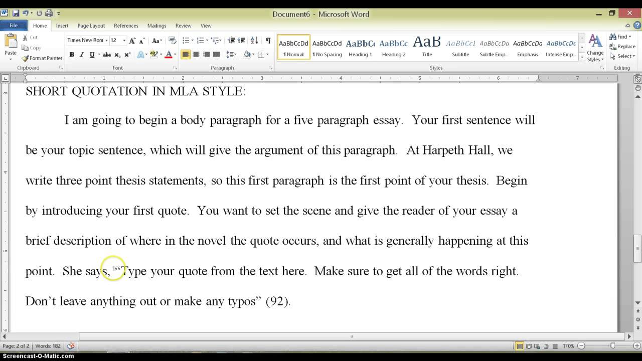 citing a quote in an essay Quoting material published june 7 (but remember that you still have to cite let's say you want to quote from the following passage in an essay called united.