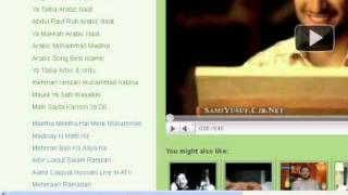 Ramadan Naats Aamir liaquat Hussain ramadannaats.blogspot.com