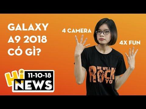 Galaxy A9 (2018) 4 camera lộ diện trước khi ra mắt | Hinews
