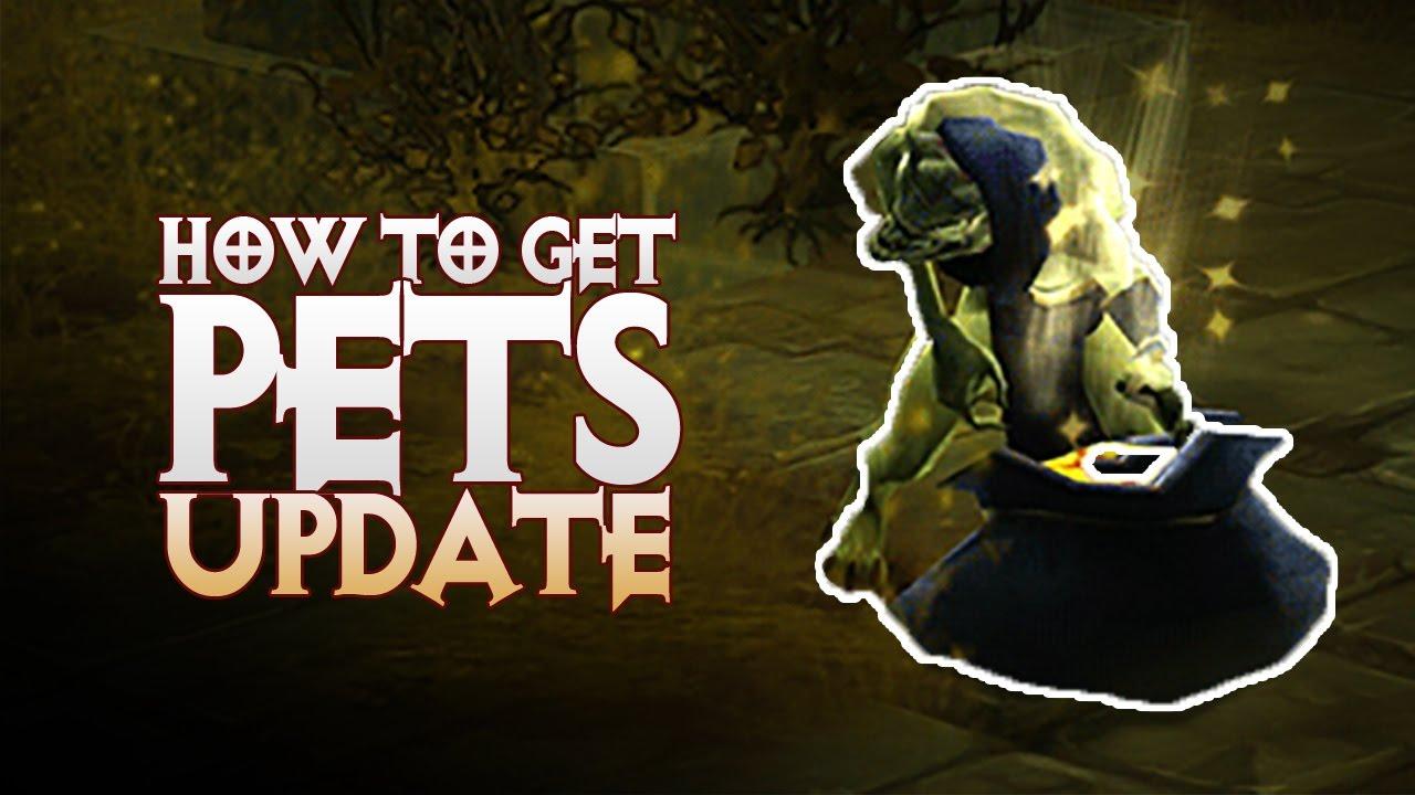 Diablo 3: PETS Farming! How to farm Menagerist Goblins