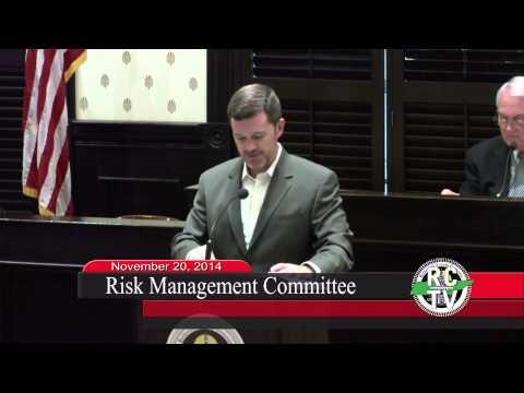Risk Management Committee - November 20, 2014