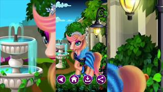 Pony Games Part 1: Little Dress up Pony Games  -Increases motor skills