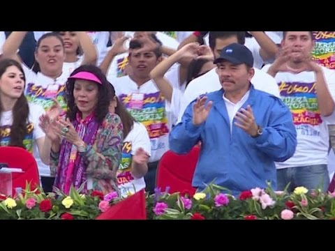 Nicaraguan President and wife mirror 'House of Cards...