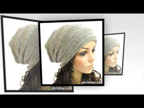 модные вязаные шапки шапки вязаные спицами Youtube