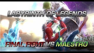 FINAL LABYRINTH FIGHT VS MAESTRO | Marvel: Contest of Champions