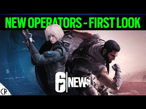 New Operators - First Look - 6News - Void Edge - Rainbow Six Siege