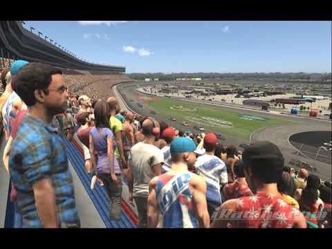 eNASCAR FanCam at Virtual Texas Motor Speedway