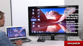 auvisio PC2TV HDMI-Video-Streamer 1080p überträgt von WLAN auf HD-TV