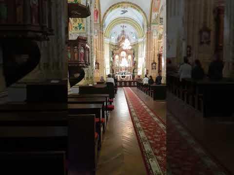 Служба в костеле в деревне Слободка (Беларусь)