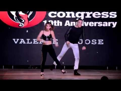 Valerie Almeida & José Figueroa at Orlando Salsa Congress 2015