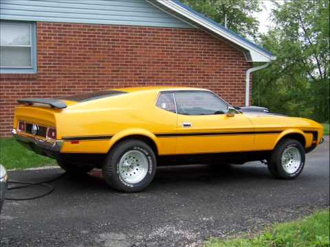 1972 Mustang Mach 1 Youtube