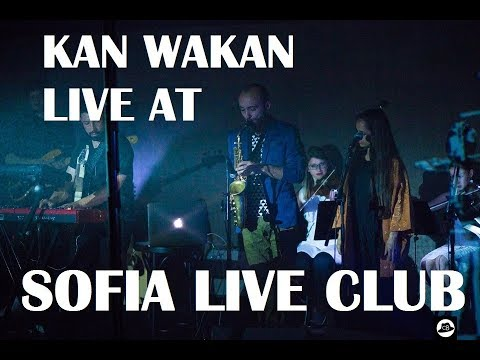 Stefan Zdraveski solo with KAN WAKAN (US)  - Phantasmagoria live at Sofia Live Club 21.05.2017