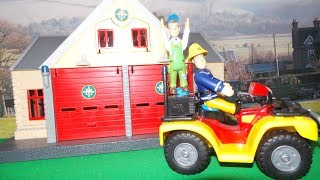 Feuerwehrmann Fireman Sam in Action - Compilation Video In English