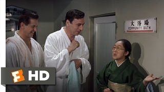 My Geisha (6/8) Movie CLIP - Community Bath With the Girls (1962) HD