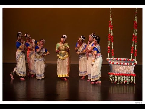 A Mohiniyattam Dance Ballet Production - Ghanashyam