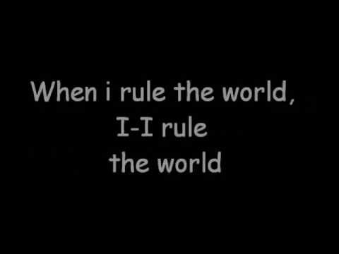 LIZ - When I Rule The World (Lyrics Video)