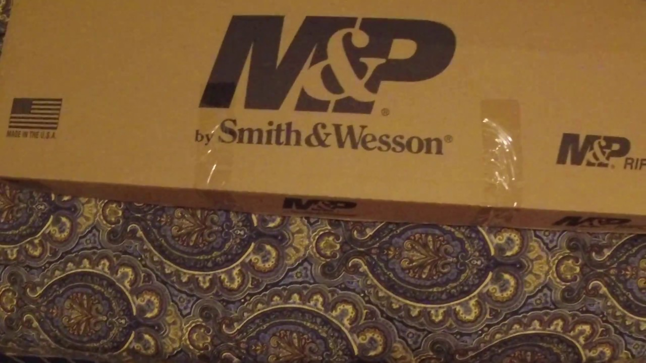 Smith And Wesson 12039 Unboxing: Smith & Wesson M&P 15 Sport 2 Unboxing