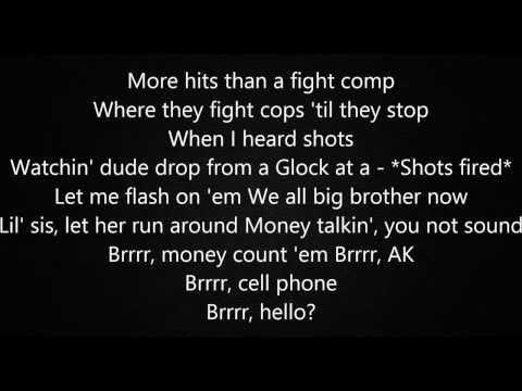 Childish Gambino - World Star Lyrics HD