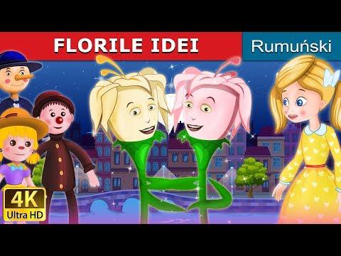 FLORILE IDEI | Povesti Pentru Copii | Romanian Fairy Tales