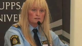 #attgöraenannika Annika Ljung skämmer ut hela polisyrket genom sina onyanserade åsikt om droger