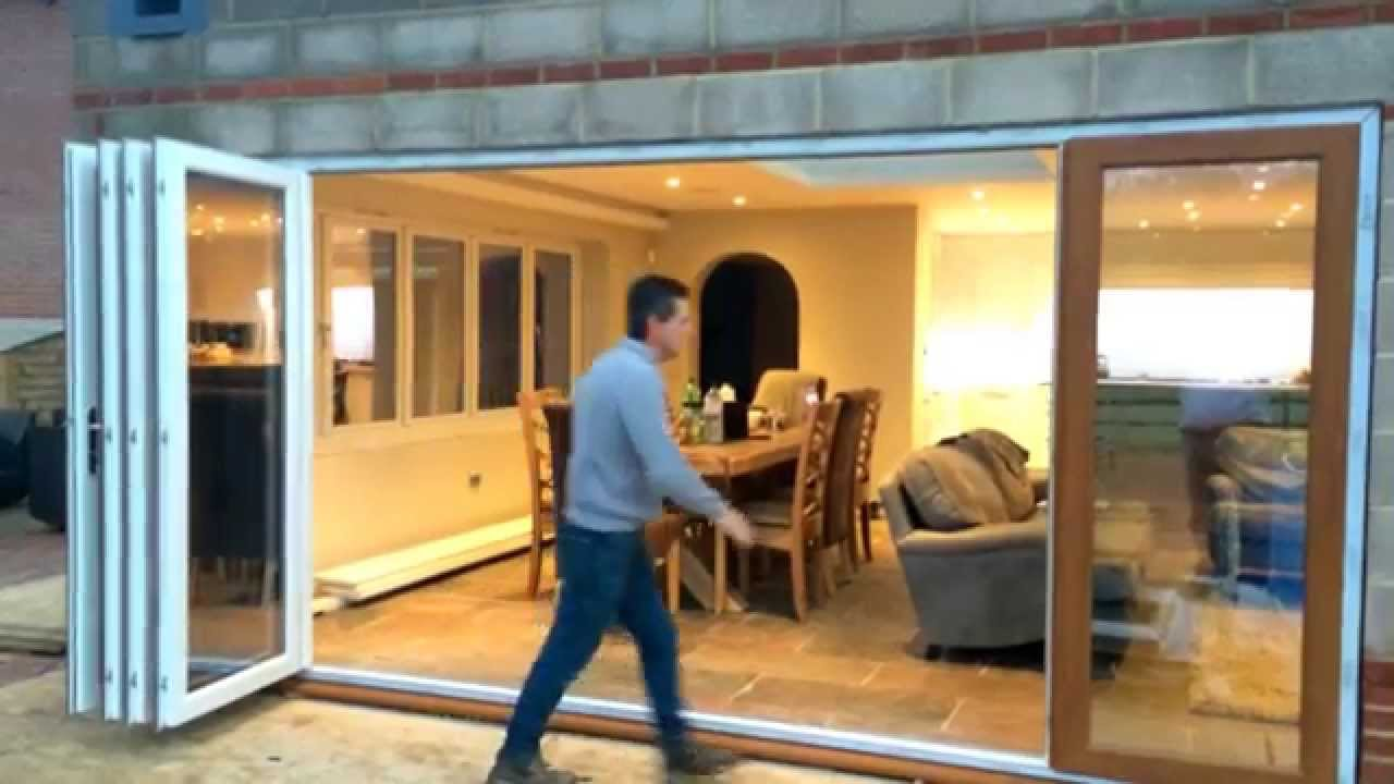 Slide and fold door visit www.invisifold.com - YouTube